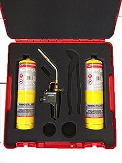 Rothenberger Tote Bag Kit Super Fire 2 15mm Pipe Slice MAPP Gas Soldering Mat