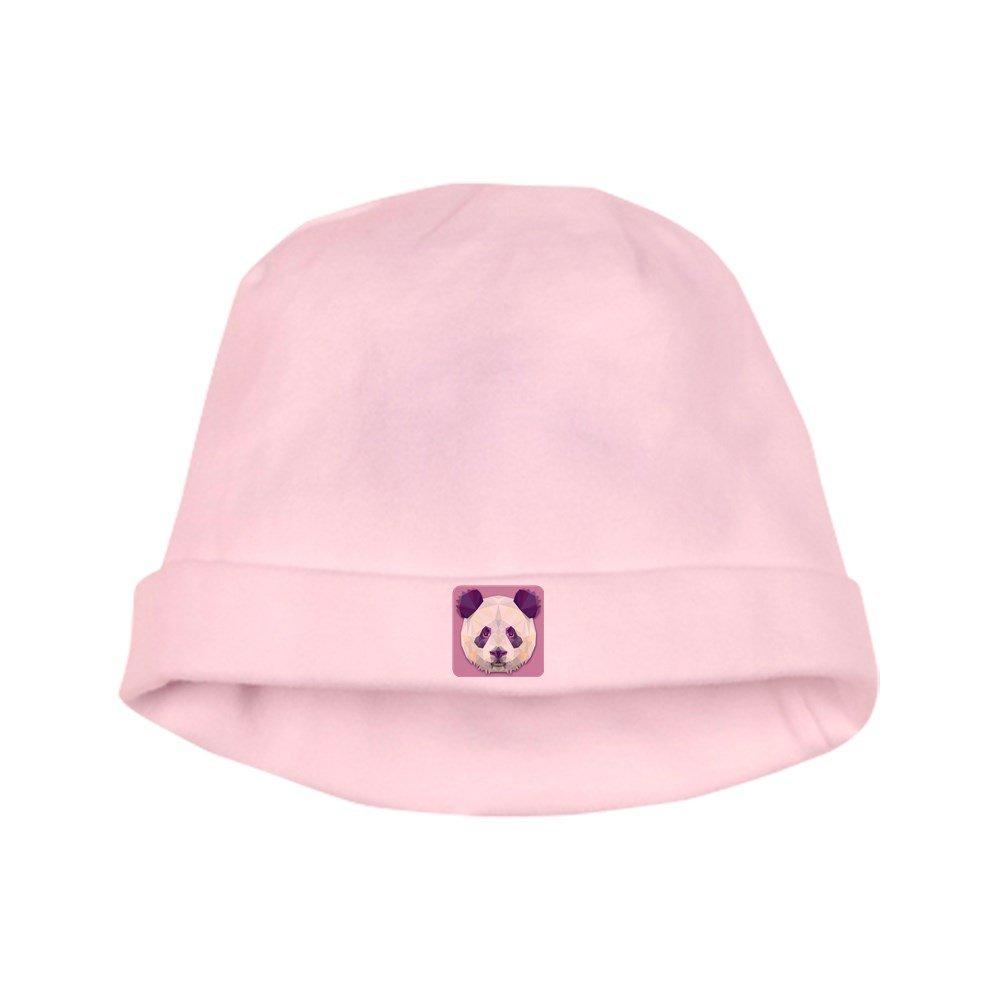 Royal Lion Baby Hat Triangle Panda Bear - Petal Pink BABYHTRINPNDBER-PP-2018OCT