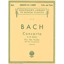 Concerto in A Minor: Schirmer Library of Classics Volume 1401 Score and Parts