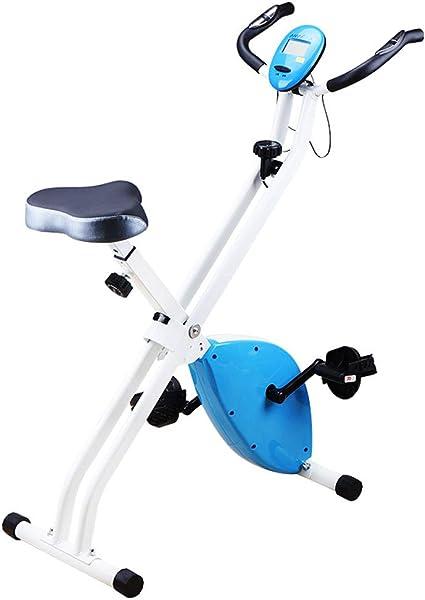 Y current Bicicleta estática de Ejercicio Vertical Plegable ...