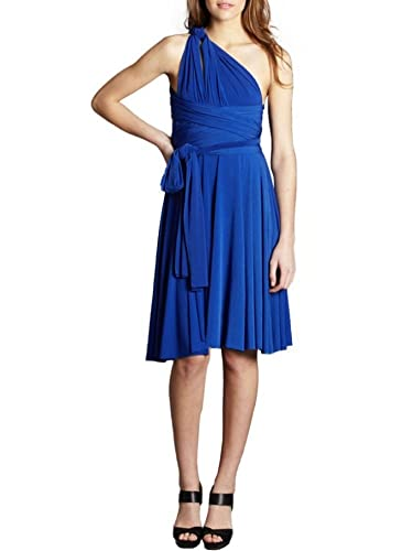 VonVonni Women's Transformer/Wrap Infinity Bridesmaids Dress, Short