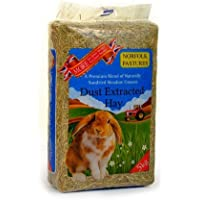 Norfolk Pastures Dust Extracted Hay (Bulk Bale) (approx 5+kg)