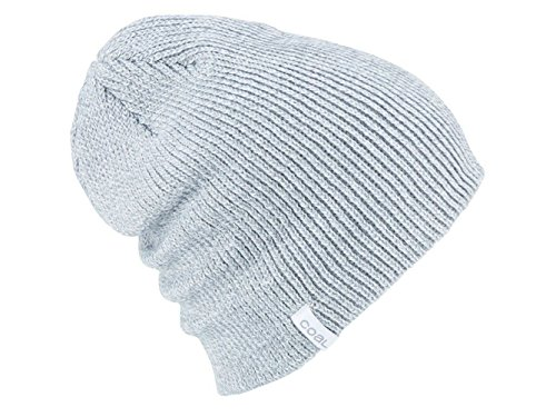(Coal Unisex The Frena Solid Beanie/Light Grey)