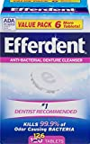 Best Denture Cleaners - Efferdent Anti-Bacterial Denture Odor Cleanser (126 Tablets) Review