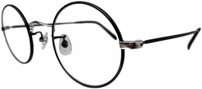 Amazon   EFFECTOR (エフェクター) メガネ チタンフレーム/ラウンド型 ...