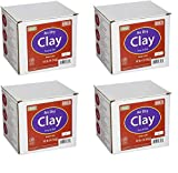 AMACO 4630-3C Air Dry Modeling Clay, 10-Pound, Gray (Pack of 4)
