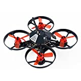 robotic armor - Makerfire Armor 90 BNF FPV Racing Drone 90mm Micro Brushless Quadcopter with FPV Camera PNP Version (Black)