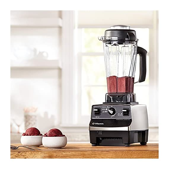 Vitamix 1891 Certified Reconditioned Blender with Standard Programs 5 Three pre-programmed settings for automatic processing Easy to use Variable Speed Control and Pulse feature 64-ounce BPA-free container with spill-proof vented lid