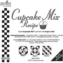 Moda Cupcake Mix Recipe Foundation Paper Pattern Pad #2