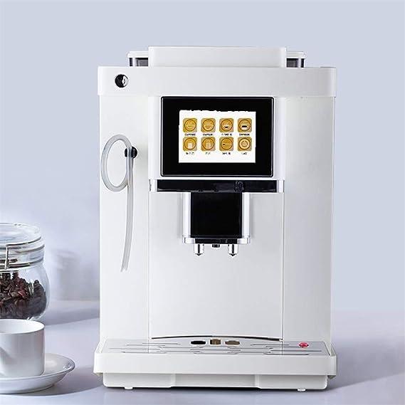 Lxyxyl Cafetera automática - Pantalla táctil Inteligente Molinillo ...