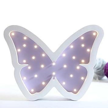 Here There Kinder Led Nachttischlampe Neon Deko Lampe