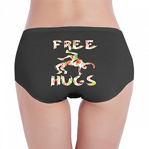 Antonia Bellamy Free Hugs Youth Wrestling Gifts Women's Comfort Hipster Panties Panty Underwear by Antonia Bellamy