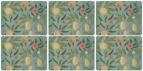 Pimpernel Fruit Blue Placemats - Set of 6 by Pimpernel