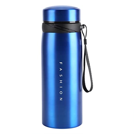 249479bff8d 900ml Stainless Steel Water Bottle Leak Proof Thermal Insulated Tea Coffee  Cup Mug for Travel Gym Camping Hiking Biking (Blue): Amazon.ca: Home &  Kitchen