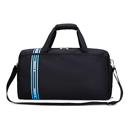 Nylon Gym Sport Bag Male Impermeable Gran Capacidad Fitness ...