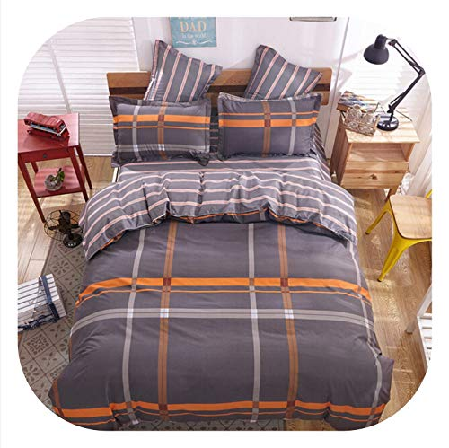 - Fashion New Style of England Imitation Cotton Wool Sheets Bed Sets Pillowcases 4pcs/3pcs bedspreads Home Textiles Bedding Soft,16,Twin 4pc 150x200cm