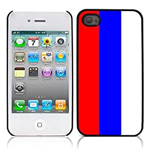 LJF phone case The national flag of Serbia Hard Plastic and Aluminum Back Case for Apple iphone 4 4S