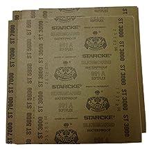 Grit 1500 to 7000 Wet/dry Sandpaper Sheets Precision Polishing Sanding -2pcs of ech Grit 1500 2000 2500 3000 5000 7000 Sanding sheet