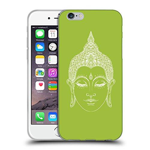 GoGoMobile Coque de Protection TPU Silicone Case pour // Q09150603 Bouddha 33 Android vert // Apple iPhone 7