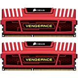 Corsair Vengeance Red 16GB (2x8GB)  DDR3 1600 MHz (PC3 12800) Desktop Memory