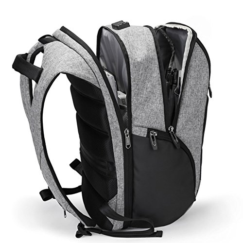 Men's B Large Bag Anti Shoulder Computer Leisure Theft Capacity School Bags Travel B Outdoor Bags Double Bag Hrxw5YZHq