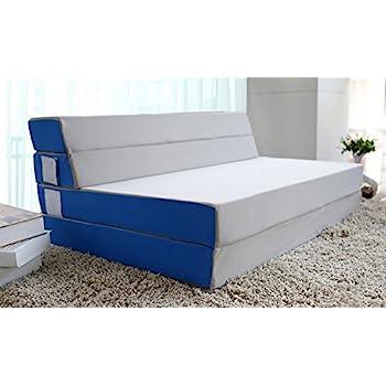 Amazoncom Merax TriFold Foam Folding Mattress and Sofa Bed for