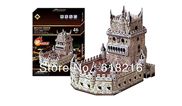 Amazon com : Free shipping Coolville 3D Puzzle Paper Model
