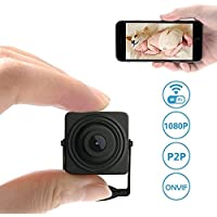 Wifi Mini Camera,Etration 1080P Full HD Wireless Nanny Cam Small Home Convert Security Secret Camera with Motion Detection