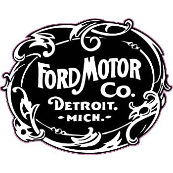 "Ford Motor Co. 1903 Decal 5"" Free Shipping in the United States"