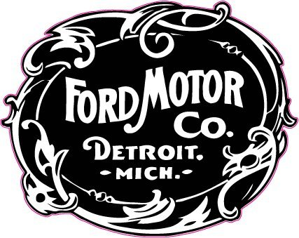 Ford Motor Co. 1903 Decal 5