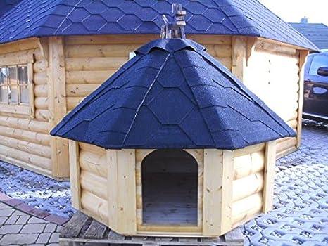 junit 8 esquina Caseta perro casa Perros Dormir Espacio Animales Casa hundekota: Amazon.es: Productos para mascotas