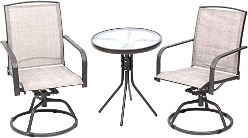 Fit Right 3 Pieces Outdoor Furniture