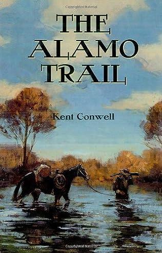 book cover of The Alamo Trail