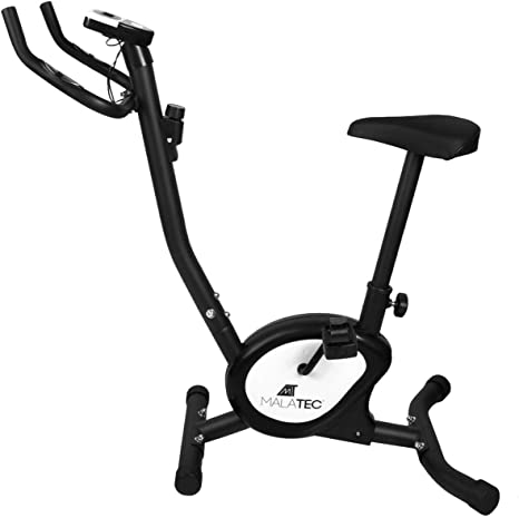 MALATEC Bicicleta Estática de Fitness Aparato Doméstico Plegable ...