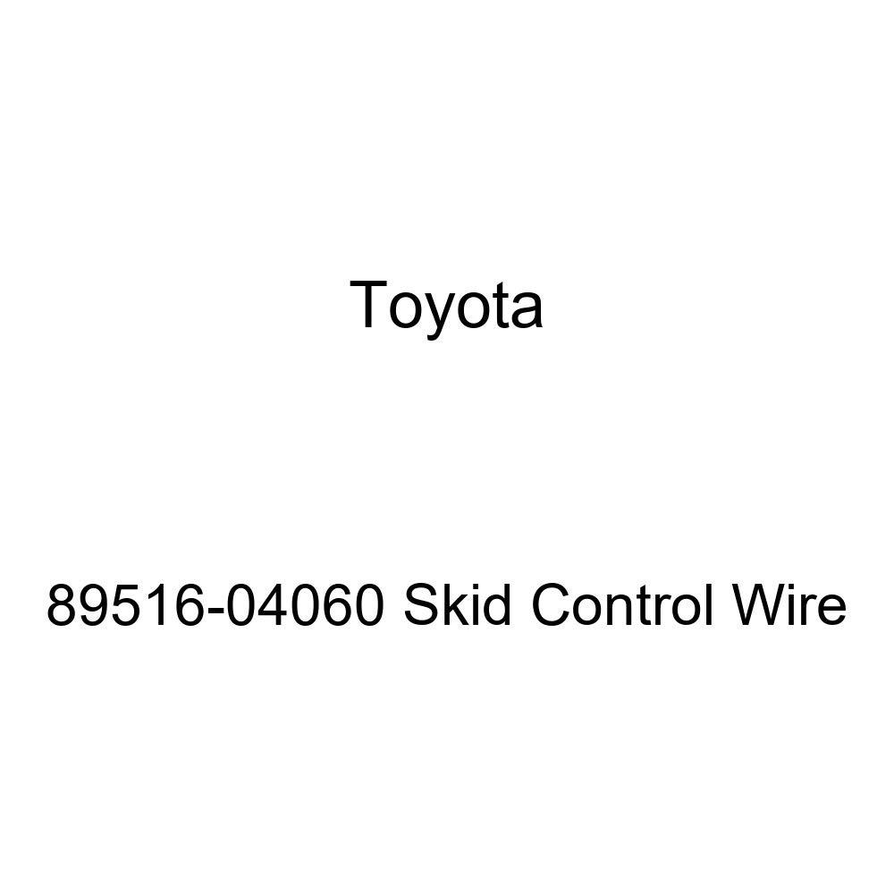 Genuine Toyota 89516-04060 Skid Control Wire