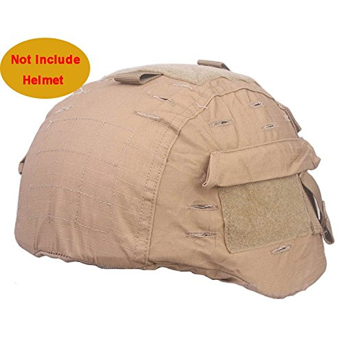 (ATAIRSOFT Emerson Airsoft Tactical Helmet Cover for Military MICH 2000 Ver2/ACH Helmet (CB))