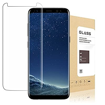 Samsung Galaxy S8 Plus Screen Protector [Touch Agile 3D Glass, Tempered Glass Suprecool Screen Protector [Easy to Install] Samsung Galaxy S8 Plus