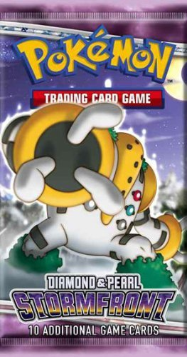 - Pokemon Stormfront (DP7) Booster Pack