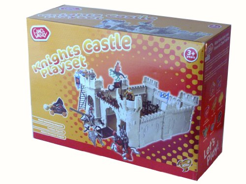 Chad Valley Knights Castle Playset Amazoncouk Toys Games