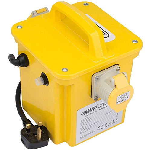 Draper 31262 230-110 V Portable Site Transformer, Yellow