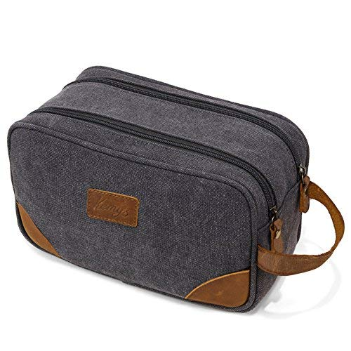 Kemy's Toiletry Bag Mens Bathroom Tolietree Travel Bag Groom