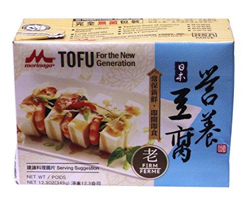 营养豆腐 Tofu 12.3 oz - Firm (Pack of 12) by Morinaga