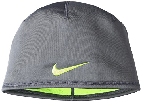 New Nike Golf Tour Skully Winter Cap Hat, Carbon-Volt