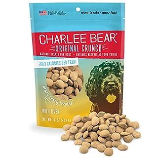 Charlee Bear Original Dog Treats, Chicken Liver, 16 oz