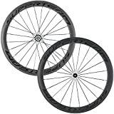Superteam 50mm Clincher Wheelset 700c 23mm Width Cycling Racing Road Carbon Wheel Decal