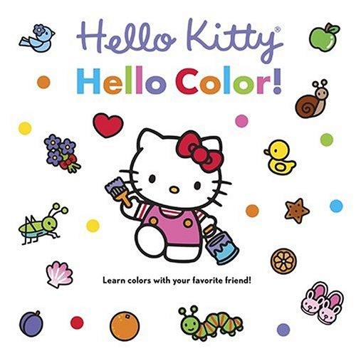 Hello Kitty Hello Color Board Book Higashiglaser Design Inc