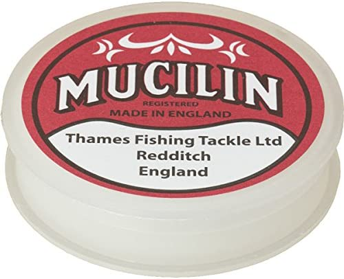 Thames Mucilin Red Can Fly Fishing Line and Fly Floatant Paste Dressing