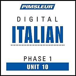 Italian Phase 1, Unit 10