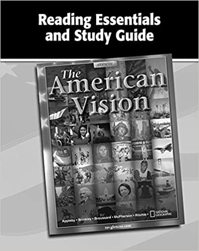 Amazon the american vision reading essentials and study guide the american vision reading essentials and study guide workbook united states history hs 1st edition by mcgraw hill fandeluxe Gallery