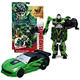 Hasbro Year 2013 Transformers Movie Series 4 Age of Extinction Power Attacker 5-1/2 Inch Tall Robot Action Figure - Autobot CROSSHAIRS with Power Punch Feature (Vehicle Mode: Corvette) by Transformers